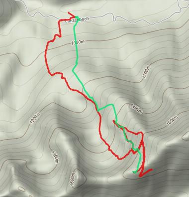 Track auf Hochgrat