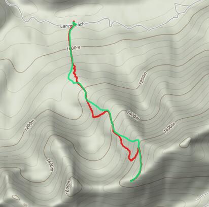 Hochgrat über Ahornhang