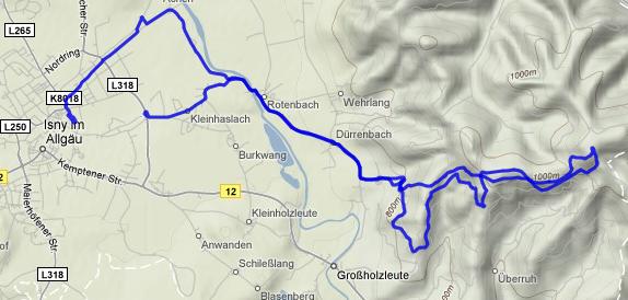 Track der Tour